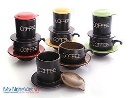 Phin coffee màu nâu
