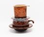Phin cafe thấp men Hỏa Biến màu cam MNV-CFM001-3