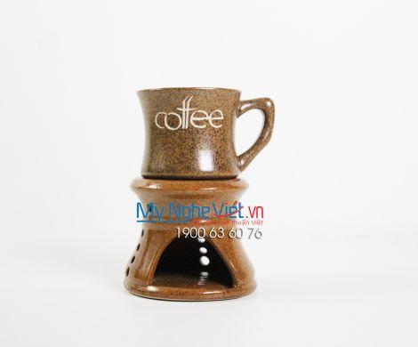 Bếp đun cafe lớn vàng nâu MNV-BD05/4