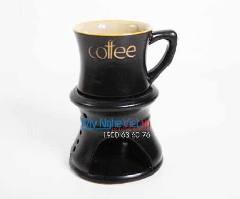 Bếp đun cafe lớn men kiếng MNV-BD05/5