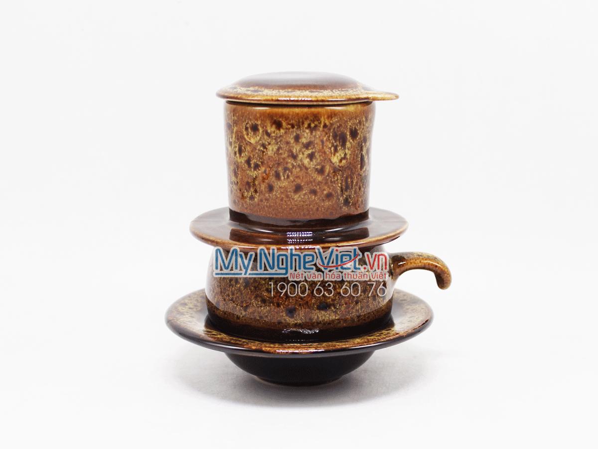 Phin cafe thấp men Hỏa Biến vàng chanh MNV-CFM001-4