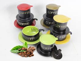 Phin cafe màu
