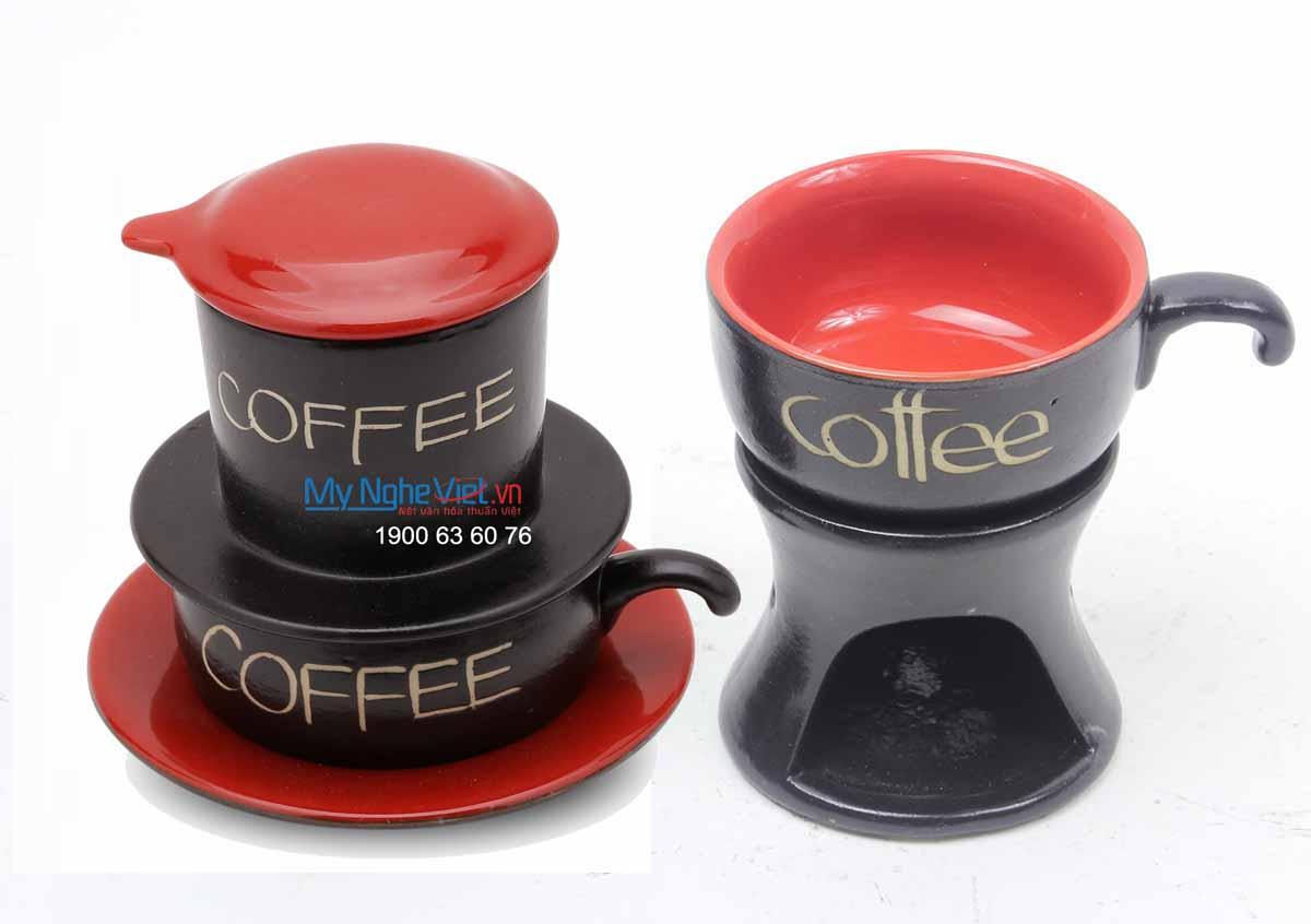 Combo Phin Cafe + Bếp đun MNV-CF001/2CB