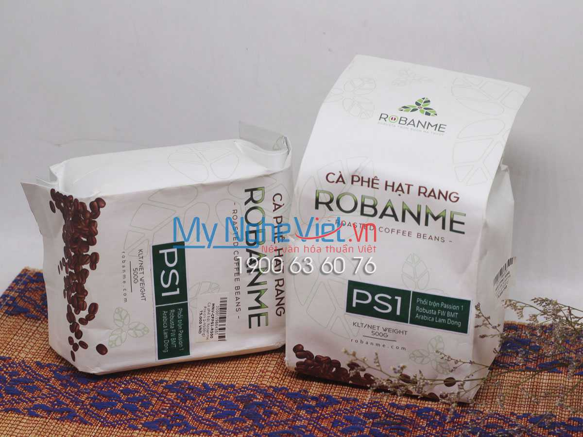 Cà phê bột Robanme Pasion 1-B500(g) PS1-B500